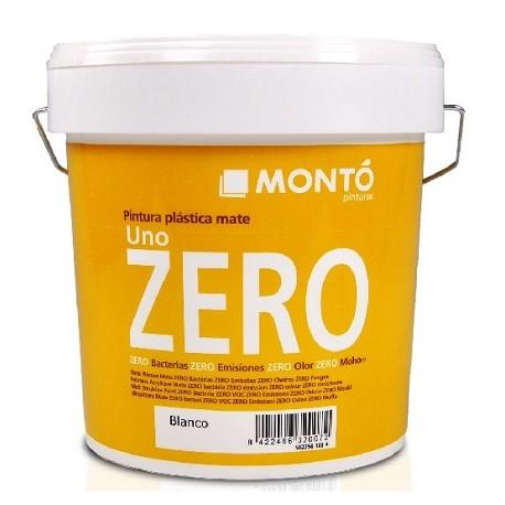 Uno Zero pintura plástica sin olor Montó