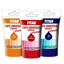 Tinte concentrado para todo tipo de pinturas y esmaltes Titan