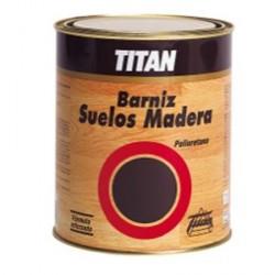 Barniz Titan satinado suelos madera