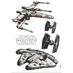 Sticker Star Wars Spaceships 14723