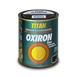 Esmalte antioxidante satinado y efecto forja liso Oxiron Titan.