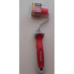 Mini-rodillo 6 cm. teflonado pintar hierro, metal Nespoli
