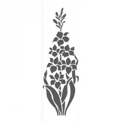 Plantilla estarcido flores FXL 434