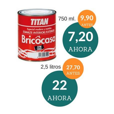 Esmalte sintético barato Bricocasa Titan