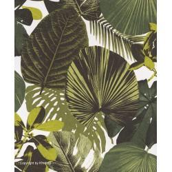 Papel pintado Oxygen hojas verde