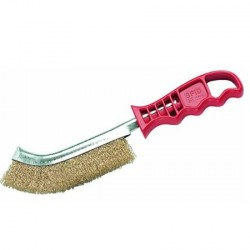 Cepillo metálico abrasivo