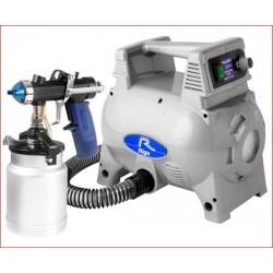Turbina TMR 140 con pistola MRI-AS trabajos de pintura