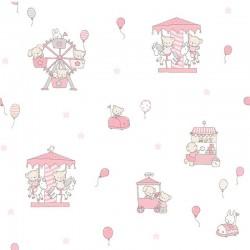 Papel pintado infantil Candy ref. 018