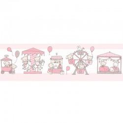 Cenefa autoadhesiva de papel pintado Candy ref. 015