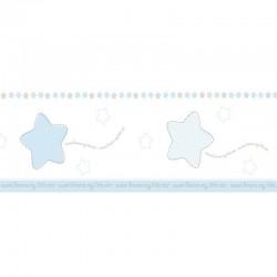 Cenefa autoadhesiva de papel pintado Candy ref. 069