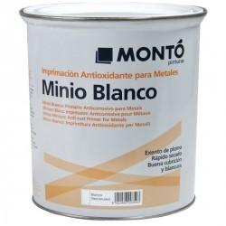 Minio sintético sin plomo blanco Montó.