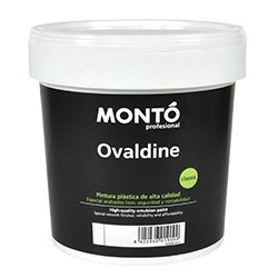 Ovaldine Semibrillo pintura plástica Montó
