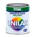 Unilak de Titanlux esmalte al agua acabado brillo.