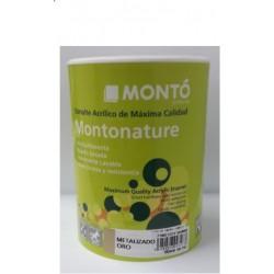 Esmalte al agua metalizado Montonature
