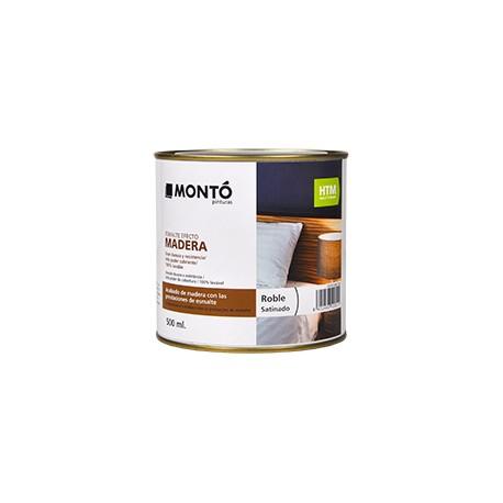 Esmalte efecto madera HTM de Montó