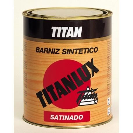 Barniz sintético incoloro satinado Titan.