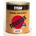 Barniz sintético incoloro mate Titan.