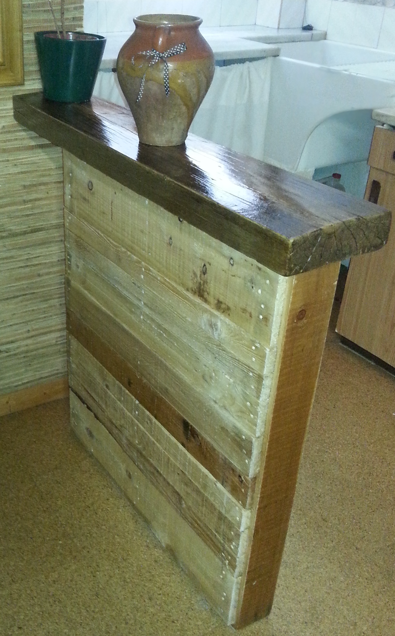 Muebles Con Palets De Madera Stunning Si Quieres Reciclar Y  # Muebles Con Paletas De Madera